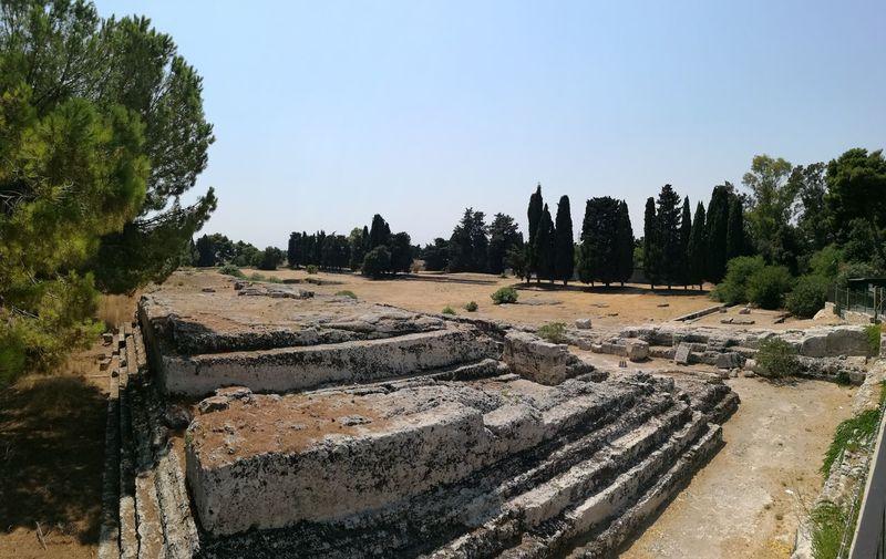 Siracusa ruins,