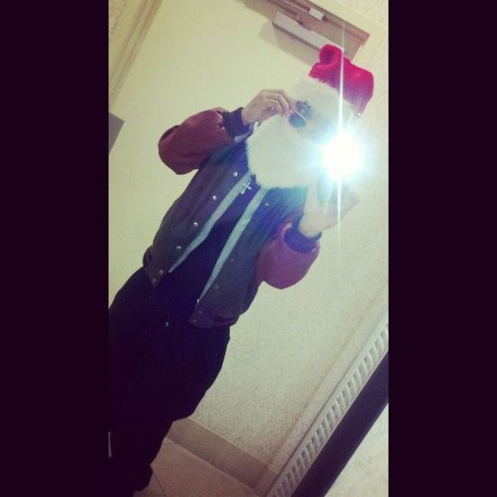 outfit for work tonight! Santa Christmasspirit Spacecadet Mixedbreed mixedkidd mixedkid lightskin lightskinSanta Vibe! workFlow Turnt turnup baby