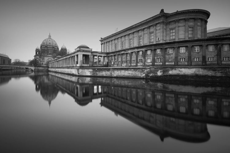 Berlin Cathedral (2017) Reflection Architecture Building Exterior Water Built Structure Waterfront Travel Destinations City No People Outdoors Sky Day Longexposurephotography Berliner Ansichten Blackandwhite Fine Art Photography Bnw EyeEm Best Shots EyeEm Best Shots - Black + White EyeEm Best Edits Longexpoelite Berlin EyeEm Longexposure Cityscape The Week On EyeEm Discover Berlin Black And White Friday The Architect - 2018 EyeEm Awards