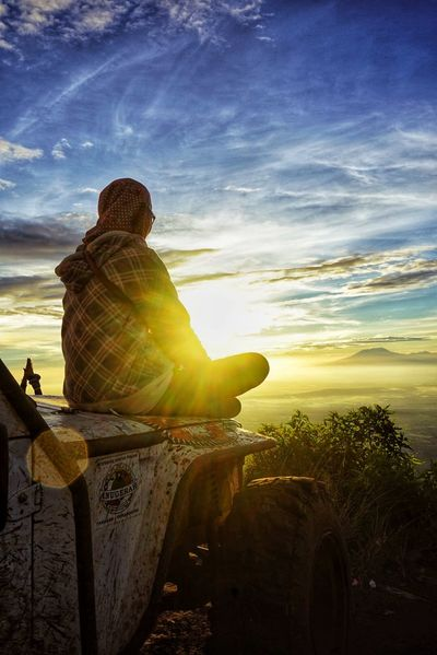 sunrise #Indonesia EyeEm Best Shots EyeEmNewHere Eyeemphotography Eye4photography  EyeEm Selects EyeEm Gallery EyeEmBestPics #indonesia_photography EyeEm Sunset Sunlight Sky Landscape Cloud - Sky The Traveler - 2018 EyeEm Awards