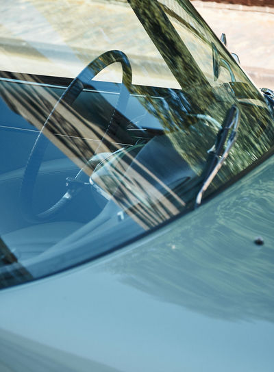 Beautiful classic car Classic Car Car Close-up Day Glass Glass - Material Land Vehicle Luxury Mode Of Transportation Motion Motor Vehicle Nature No People Outdoors Pool Reflection Swimming Pool Transparent Transportation Vehicle Hood Vintage Car Water