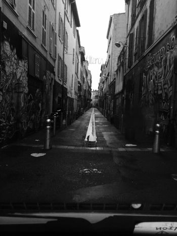 🏢🚦🚏 Building Exterior Architecture Built Structure Street Transportation Road Day The Way Forward Outdoors Land Vehicle City No People Sky Marseille Monochrome Mono Monochrome Photography Monochromatic Shoot