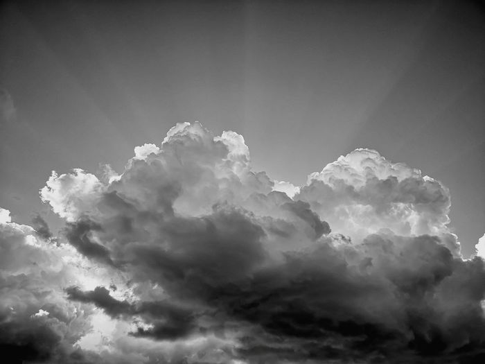 Cloudmagic XVIII OMG black and white Mountain Sky Cloud - Sky Sky Only Cumulus Cloud