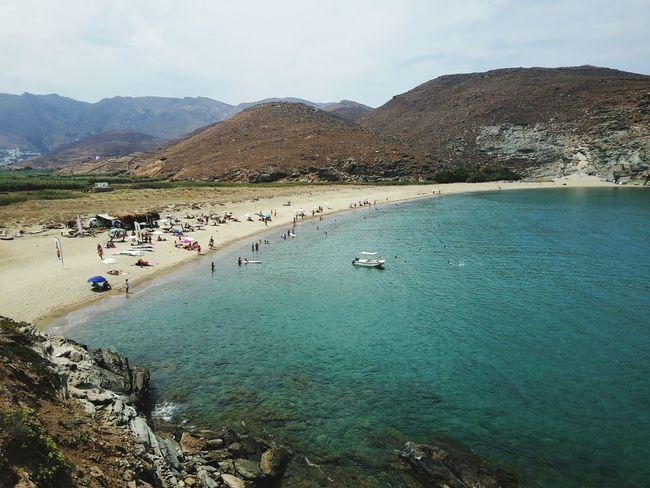Tinos Island Aigean Blue Enjoying The Sun Summer2015 Greece Sea Summer Cyclades Holiday Tinos Greece Tinos