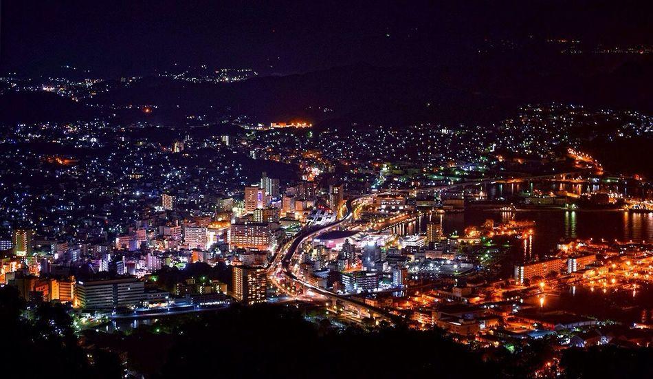 Sasebo City night view Tadaa Night View Night Photography NightSnaps