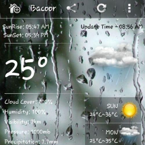 Signal 1 @ Cavite - typhoon Santi - no work! Cavite Bacoor Typhoon Rain heavyrain rainyseason rainy rain flood flashflood typhoonesanti