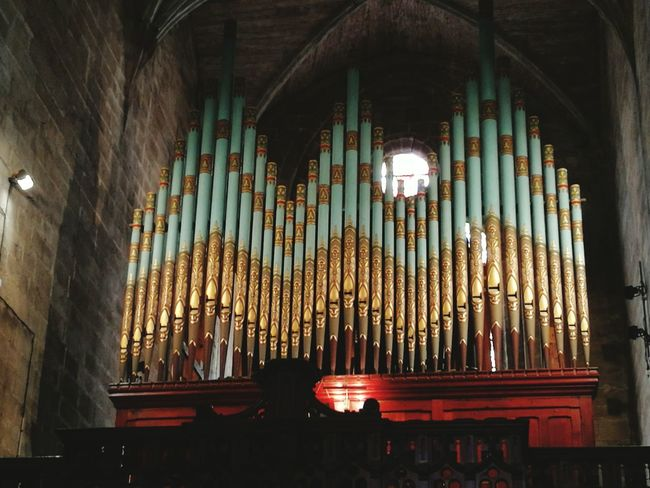 Fine Art Photography Gold Moments Church Organ Pipes Historical Monuments Colour Of Life