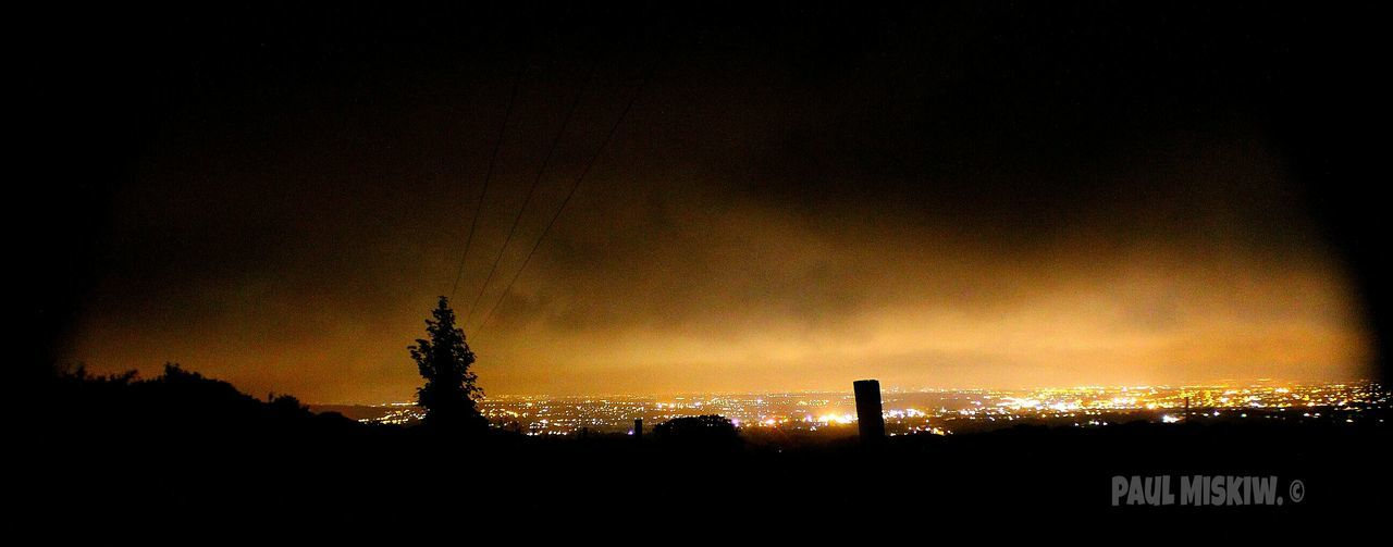 Looking Southwards from Scout Road at 3am last weekend. Light Pollution Streetlights Bolton