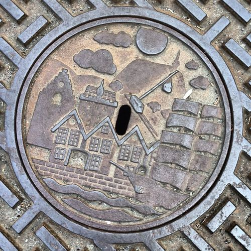 Manhole cover #bergen #norway2012 Bergen Norway2012