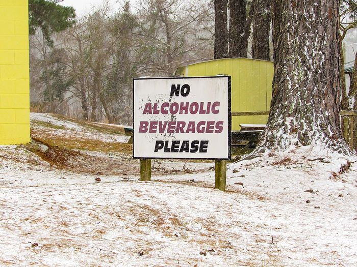sign Sign Signboard Letters Warning Sign Warning Rules No Drinking Food Food And Drink Alcohol Alcoholic Drink Wooden Sign Asking Asking Nicely Pleading Outdoor Sign Text Words Letters Words To Live By  Script Text Western Script Communication Day Outdoors No People Tree Close-up Nature