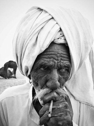 Pushkar Fair, India Streetphotography Blackandwhite Portrait Streetphoto_bw
