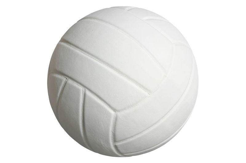 Volleyball isolated on white background with clipping path Ball Clipping Path Color Image Cut Out Gray Isolated Isolated On White No People No People, One Photography Sport Sports Equipment Volleyball White Background