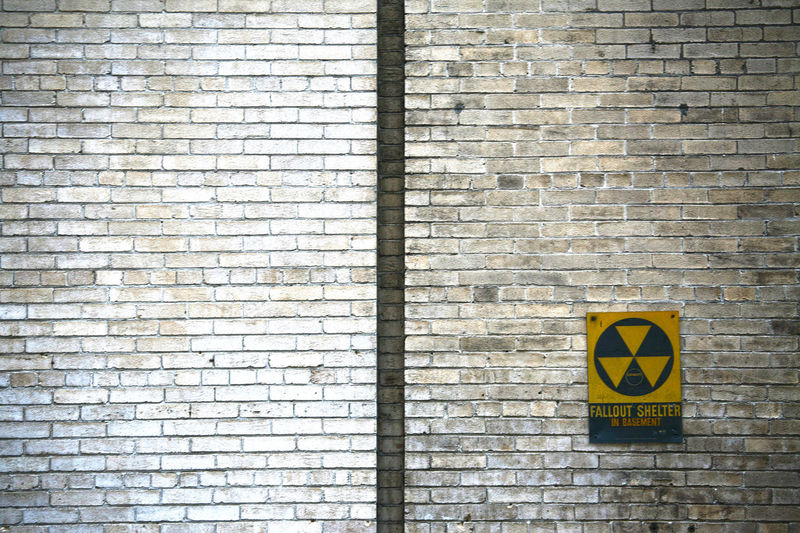 Brick Wall Built Structure History Nuclear Nuclear Nightmare Nuclear Nightmare] Nuclear Shelter Old Memories Old Memories :) Radio Activity Radioactive Road Sign Sign Tension Wall - Building Feature Yellow The Secret Spaces Endangered Species End Of Days