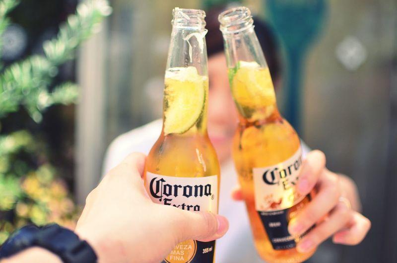 原宿で🍻 原宿 Harajuku Beer ビール コロナ Corona Date 乾杯 Cheers Cheers! Nikon Nikonphotography Nikon D7000 Nikond7000 First Eyeem Photo EyeEm Best Shots 35mm 35mm 1.8 Camera