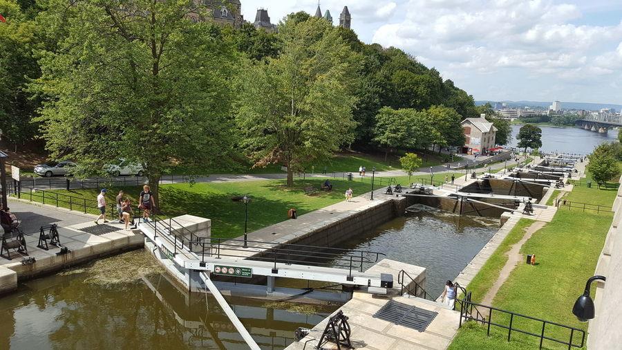 Ottawa Ottawa, Canada Ottawa,Ontario,Canda Ottawa Lock Rideau Canal Rideau Canal Locks