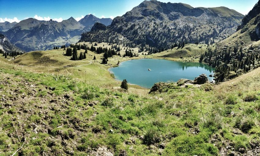 Seebergsee Zweisimmen Hiking Switzerland