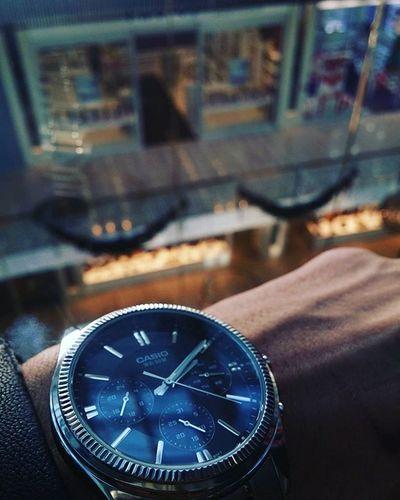 Yeni saatim 😍 Casio Armada Saat Watches Watchesofinstagram Instasize Fotografheryerde