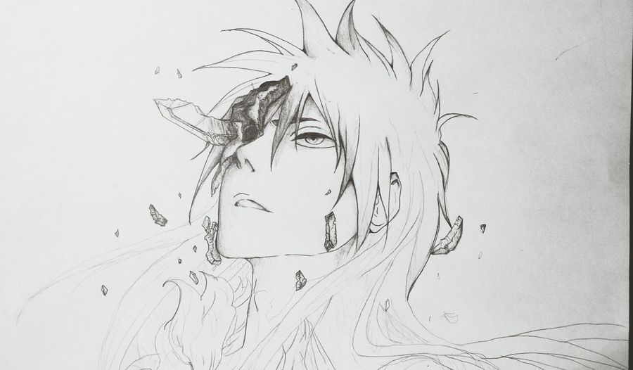 Drawing Sketch Ichigo Bleach Oh god, hope to done it in 5 hours :<