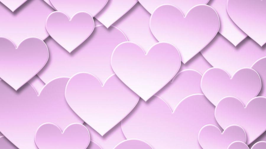 Full frame shot of heart shape paper