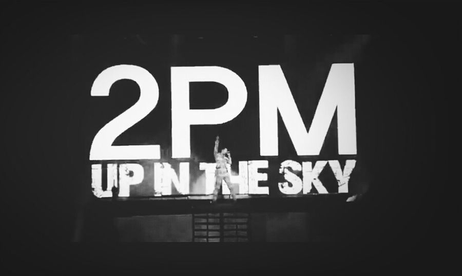 2PM UP IN THE SKY Music Kpop Hot Boyband 2pm Concert
