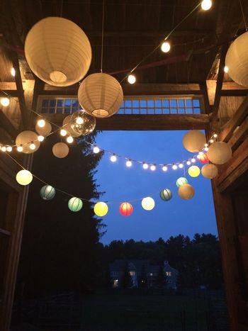 Evanstobin Wedding Barn Paperlantern Paperlanterns Paper Lanterns