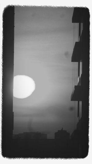 Sunset at silom