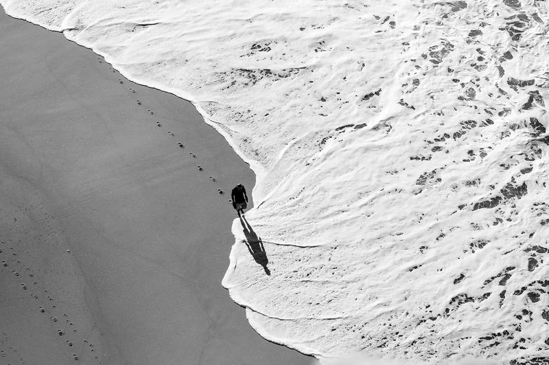 What a wonderful day... Minimalism Bw_lover Blackandwhite Minimallandscape Sea_collection Photo Blackandwhite Photography Black & White NEM Black&white Black And White Friday