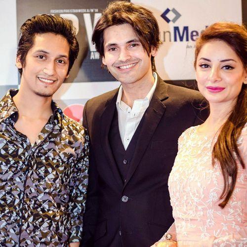 Fpw Fahadmirza Sarwatgilani Redcarpet fashion Pakistan week Autumnwinter 2014 FPW2014 Karachi PcHotel celebs