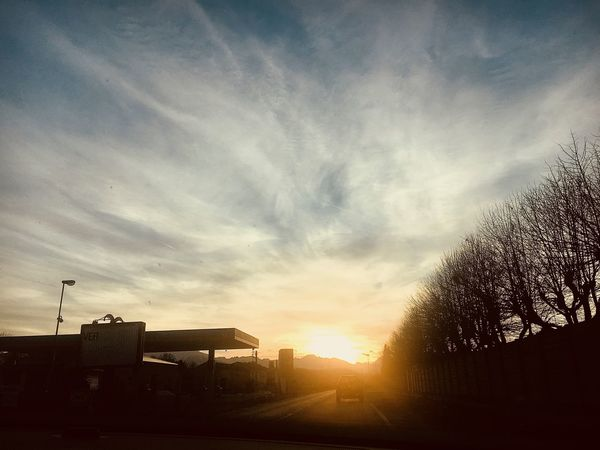 Reach the skies my friends EyeEm Best Shots - Nature EyeEm Italy EyeEm Masterclass EyeEm Mondovì EyeEm Gallery Mondovì Sky And Clouds Built Structure Cloud - Sky Day Nature Outdoors Silhouette Sky Sun Sunlight Sunset