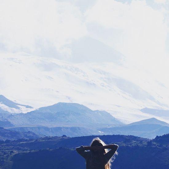 People And Places mountain Winter Mountain Range Travel Leisure Activity Travel Destinations Beauty In Nature Nature Season  Эльбрус туризм Тула Поход First Eyeem Photo