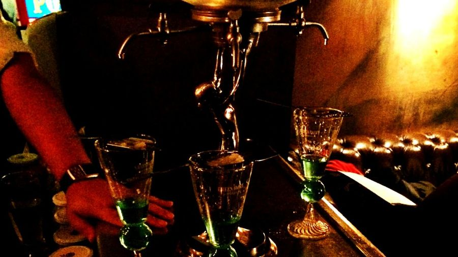 Great Atmosphere Enjoying Life Check This Out green fairy served with class.