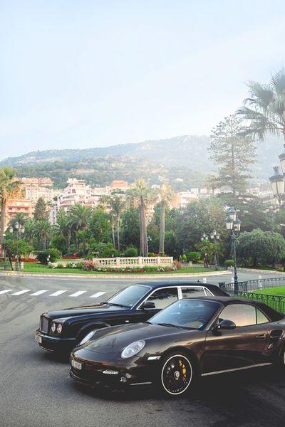Bentley Porche Cars Sleek