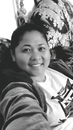 Selfie for March..? Black&white Portrait Coutch