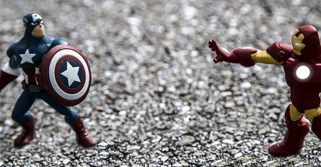 @marvel I understand the movie is called Civil War, but if I'm using @disneyinfinity figures isn't it an infinity war? Civilwar Captainamerica Ironman Disney Infinity DisneyInfinity