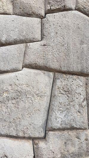 Inka stone wall