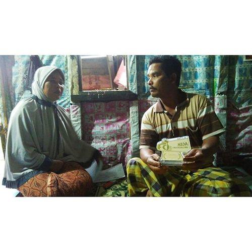 Alhamdllah, kebanggan bagi subjek Sinerjaya Pak Jamheri. Acehdocumentary @ishakiskandar_