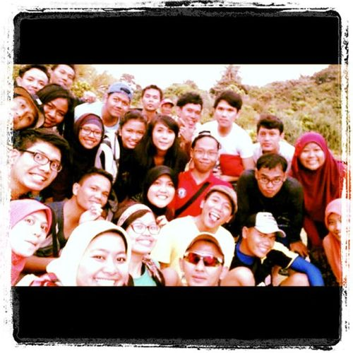 Ujungkulon Travelmate Backpacker Selfie sukaesih :D