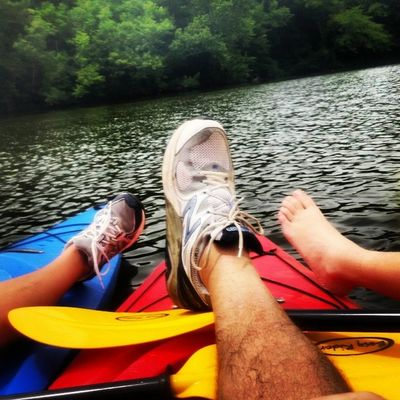 A DAY ON THE LAKE Insta_exploring Instatennessee Instagram USA Tennessee Lebanon Home_sweet_home Summer Trees Greenery Nature CLOUDSPACE CIMBERLAND_RIVER Old _ HICKORY_LAKE BLOWN_OUT_BRIDGE Family _ TIME Kayaking