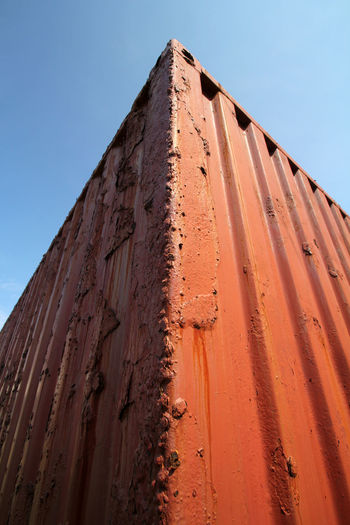 Shipping Container Container Corroded Shipping Container Transportation Delapidated Jamaica Old Rotten