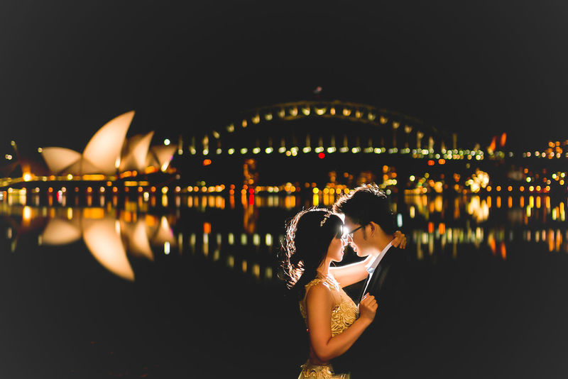 Night Adults Only Beauty Young Women Women Young Adult Travel Destinations Adult City Water Sky People Men One Person Outdoors Midnight Reflection Opera House By Night Opera House Sydney Australia Night Photography EyeEmNewHere