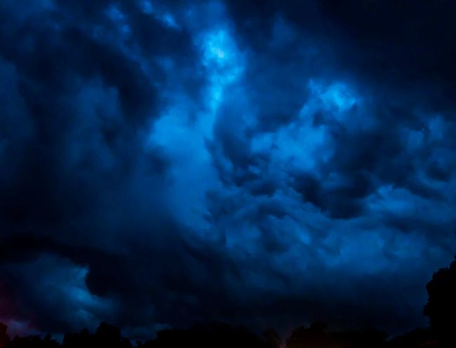 Storm Cloud Dramatic Sky Dark Sky Night Thunderstorm Scenics No People Nature Outdoors Rain Clouds Big Temple Tanjore