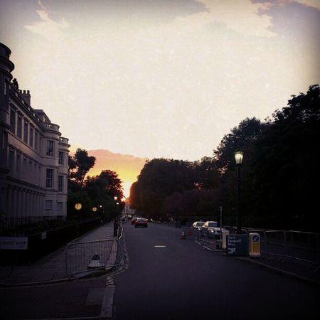 Sunset Regentspark London