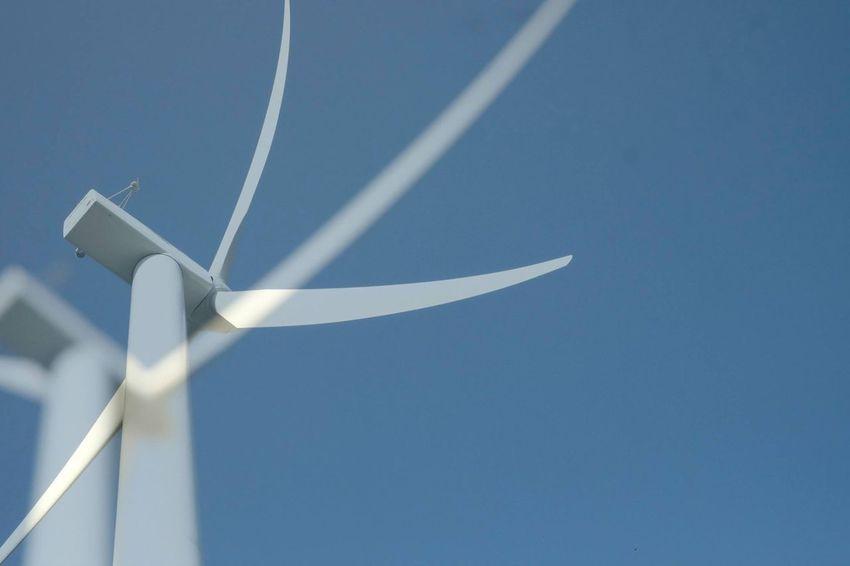 Wind Shovels Whyconcept Artistic Photo Fineartphotography Captureconception Fineartportrait Aostavalley Wind Shovels Alternative Energy Blue Double Sky Technology Wind Wind Turbine
