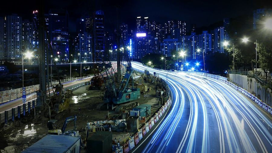 Causeway Bay, Night. Hong Kong Discoverhongkong DMC_CM1 Leica Long Exposure Street Photography Night Photography EyeEm Best Shots Hello World Slow Shutter