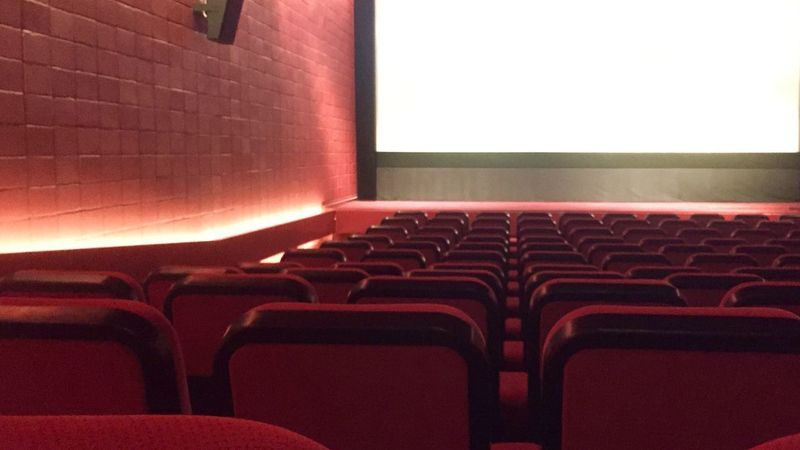 Movie... glad i made reservations 😂 Chairs Red Eye4photography  Eyeemphotography 3D MOVIE Cinema Movie Theater Seat In A Row Red Chair Movie Theater No People Arts Culture And Entertainment Empty Film Industry Screen Window Close-up Luxury Indoors