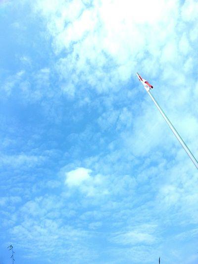 Bendera Indonesia INDONESIA Indonesia Flags Red White Blue Sky Samsung Galaxy S3