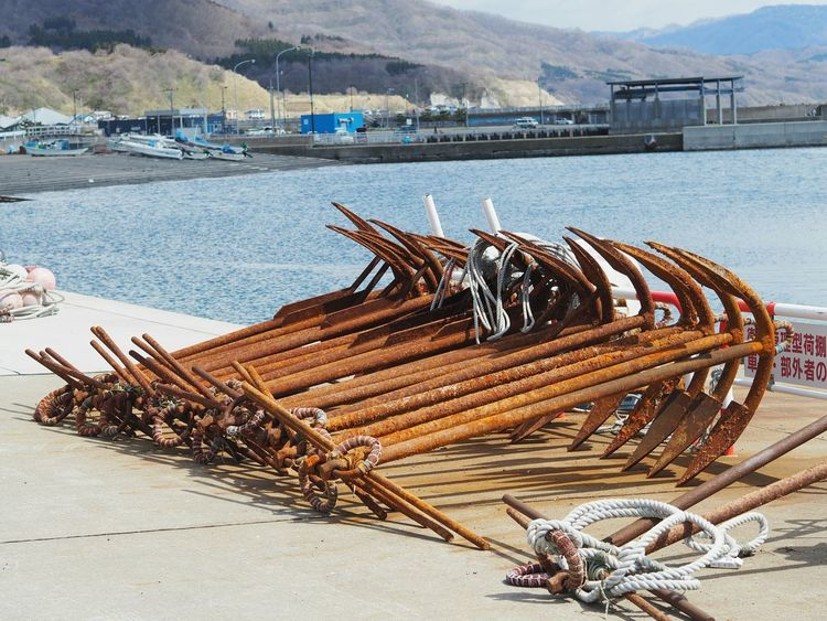Hokkaido Hokkaido,Japan Sea Water Olympus Sea_collection Naturelovers EyeEm Gallery EyeEm Best Shots No People 錨 Anchor Anchors ⚓