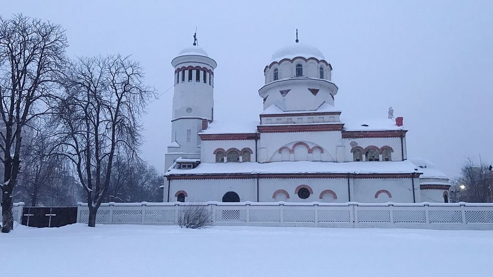 Church Peter And Pavel Sofia Sofia Bulgaria Orthodox Church Orthodox Church Dome Winter Snow Cold Temperature Architecture Religion Built Structure White Color Building Exterior Place Of Worship Weather Spirituality Low Angle View No People Outdoors Snowing Nature Sky Day Cultures