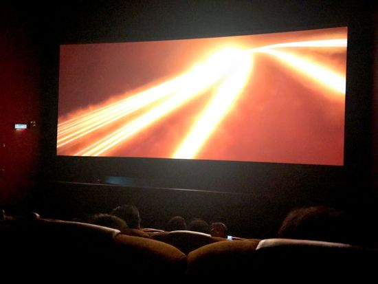 Ready to watching movie Arts Culture And Entertainment Performance Illuminated Enjoyment Lighting Equipment Group Of People Music Audience Light Indoors  Real People People Event Night Crowd Lifestyles Popular Music Concert Stage - Performance Space Stage Fun