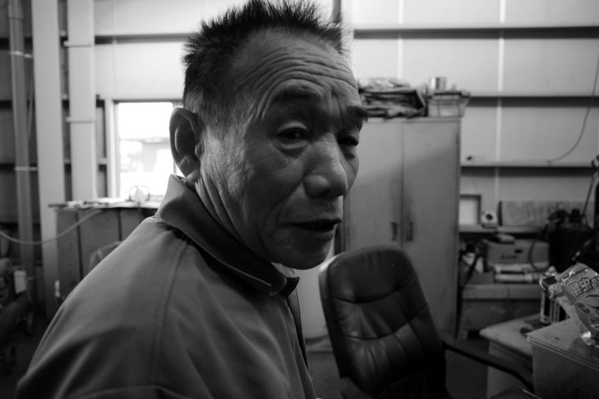 Uncle Yutaka Voigtlander Lens Color-skopar 21mm F4 Bw Blackandwhite Monochrome Leica M9-p Friend Friends Older Man Older  EyeEm Selects Warm Clothing Headshot Mature Men Close-up Thoughtful Asian  Thinking